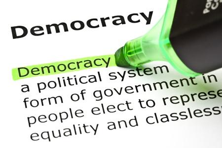 democracia: La palabra