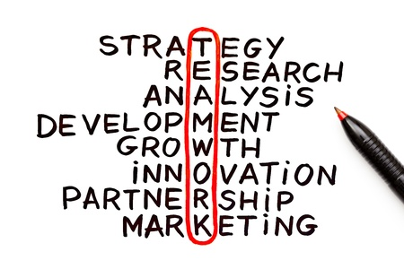 affiliate: The word Teamwork highlighted with red pen in a handwritten chart