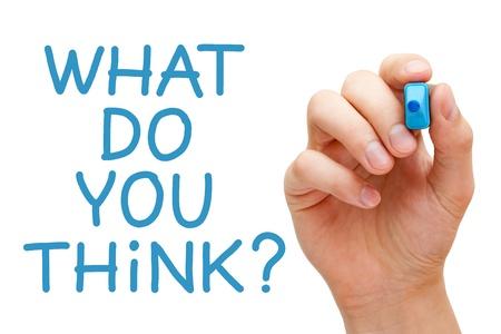 preguntando: Escrito a mano ¿Qué piensas con marcador azul transparente limpiar bordo.