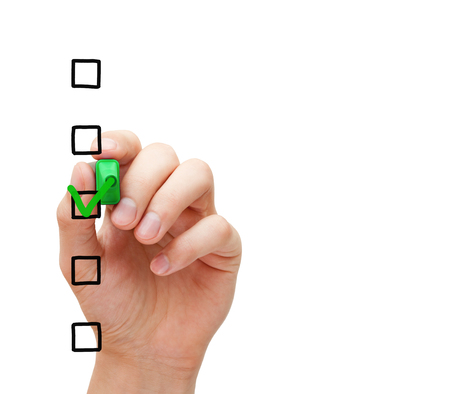Blank Survey Checklist Concept Stock Photo Picture And Royalty Free