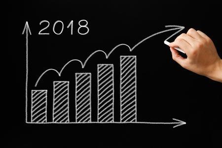 成長グラフ年2018黒板コンセプト