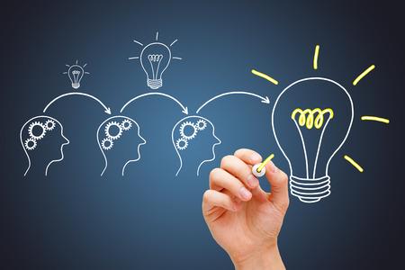 Great Idea Development By Synergy Teamwork