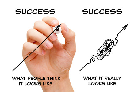 The Path To Success Arrows Concept 写真素材
