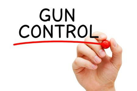 Gun Control And Regulation Concept Banco de Imagens - 121340213