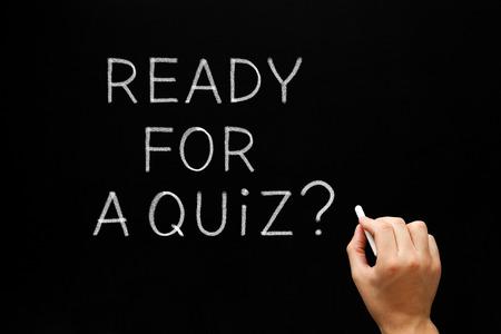 Ready For A Quiz On Blackboard