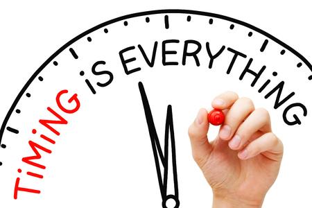 Il tempismo è tutto il concetto di orologio