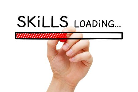 Skills Development Loading Bar Concept
