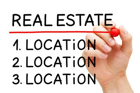 Real Estate Investment Factor Location Concept Stock Photo