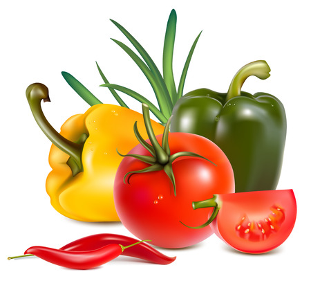 pimenton:  Verduras.
