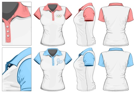 sport wear: Vector. Women Illustration