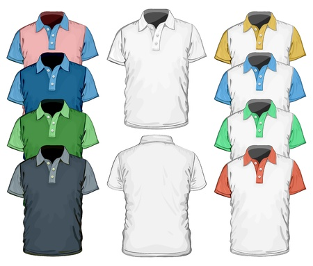 polo sport: Vector  Men