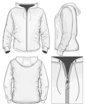 chaqueta: Los hombres vectoriales