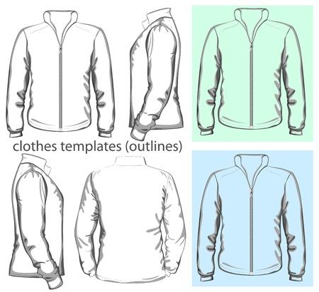 activewear: Vector  Men