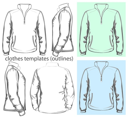 long sleeve: Vector  Men