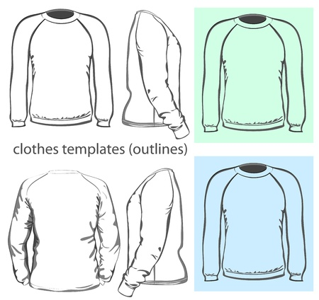 long sleeves: Vector  Men