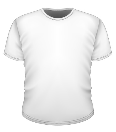 tshirt template: Men s t-shirt design template Illustration
