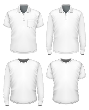long sleeve: Men short and long sleeve clothes.