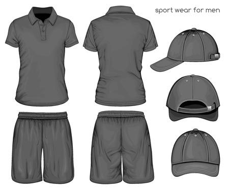 Hombres ropa deportiva Foto de archivo - 36005825