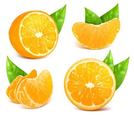 ripe: Fresh ripe oranges