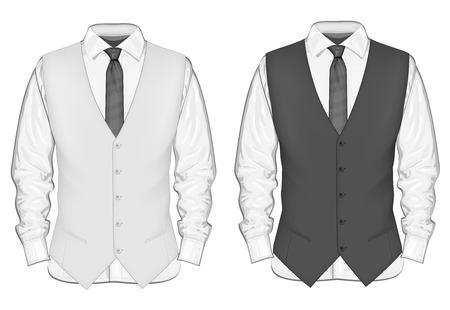 Formal wear for men. Illustration