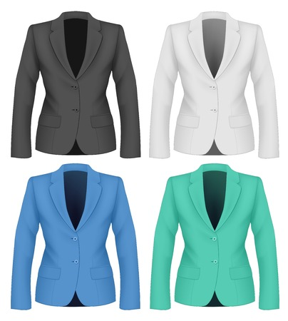 formal: Formal work wear. Ladies suit jacket .