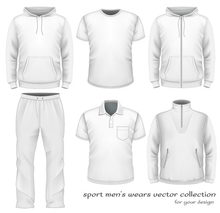Sport men wear collection.