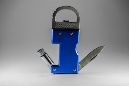 camping cut design isolated key knife safety photo