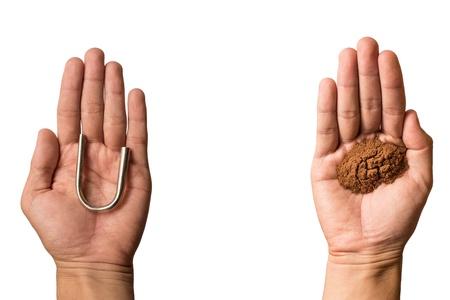 tabaco: Tabaco en la mano