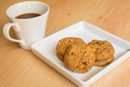 cookie and coffee photo