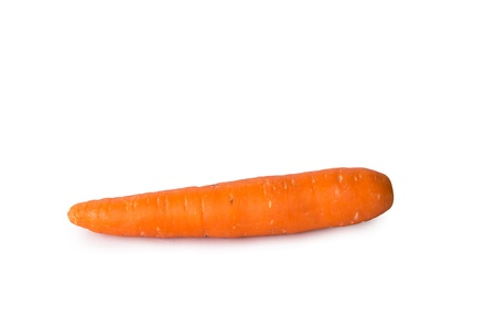 Carrot on isolate white background Stock Photo
