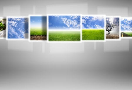 different natural images on technology,digital screen photo