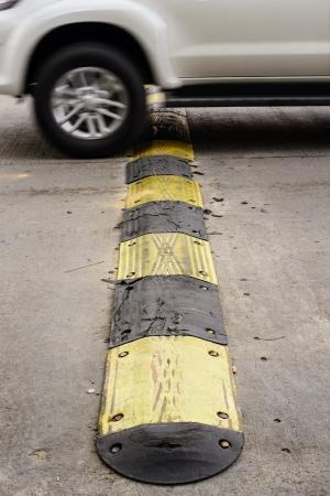 Rubber slow speed Standard-Bild