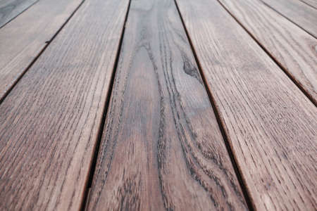 Natural wood structure of thermal ash, several boards vertically, texture background wallpaper arranged