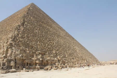 pyramid of Cheops in Giza