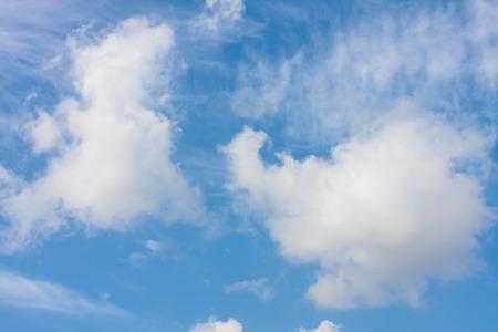 nebulosity: Blue sky background with light clouds