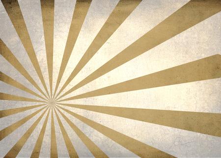 tint: Sun burst simple textured golden tint retro background Stock Photo