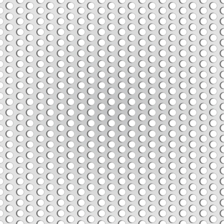 Seamless hexagon metal background with light reflection Vector
