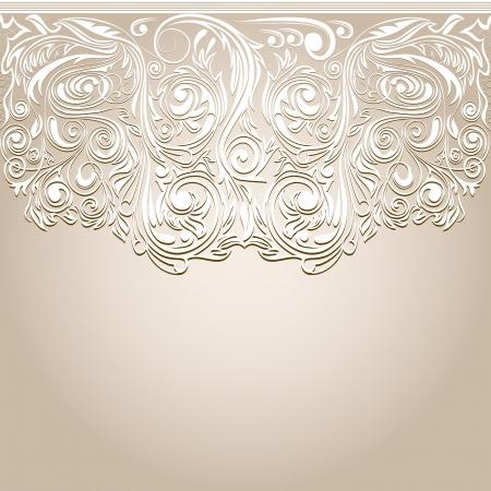 openwork: Openwork floral pattern
