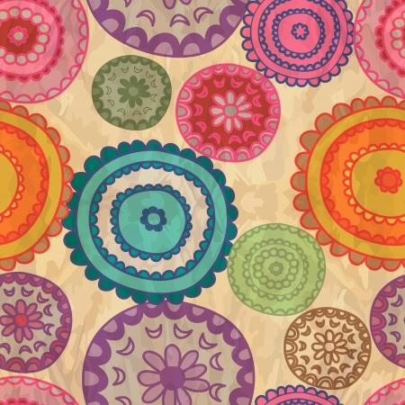 Retro lace seamless pattern