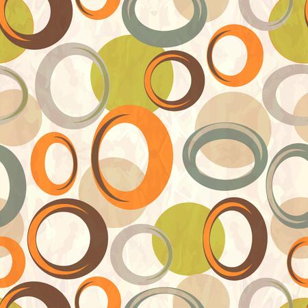 Seamless pattern circles 向量圖像