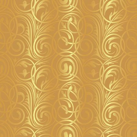 vintage background pattern: Seamless floral pattern