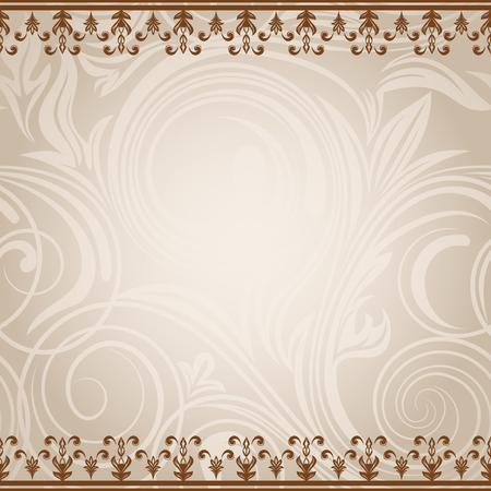 Elegant vintage card