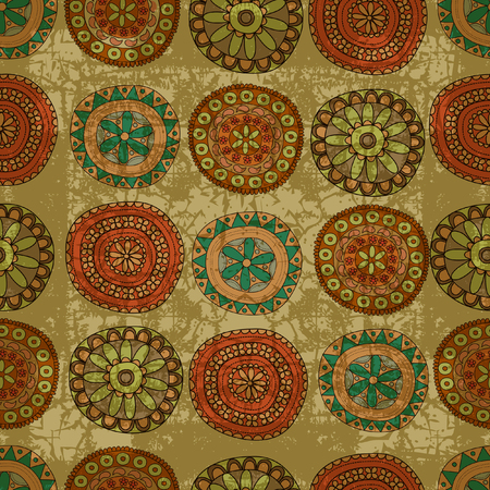 retro: Retro lace seamless pattern