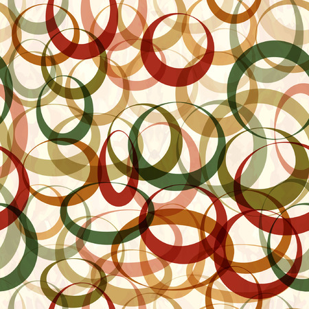 Seamless abstract pattern with circles Иллюстрация