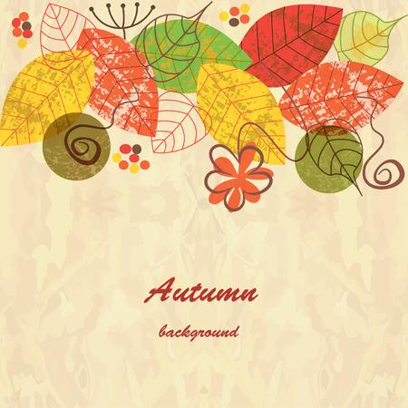 im Herbst Hintergrund