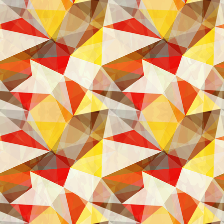 seamless: Seamless abstract triangle pattern Illustration