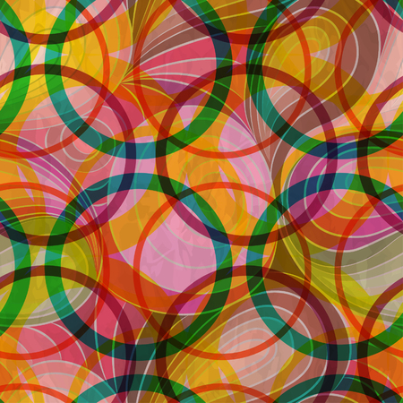 circles pattern: Seamless pattern circles Illustration