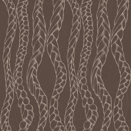 braids: abstract background with braids