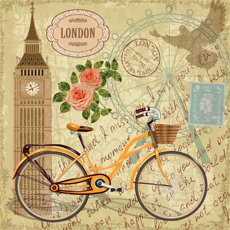 London vintage card.