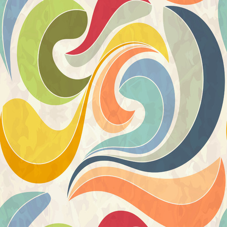 Retro seamless abstract pattern 版權商用圖片 - 71968194